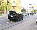 Bush's motorcade in Zagreb (7).jpg