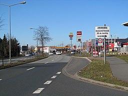 Langenhagener Straße in Garbsen