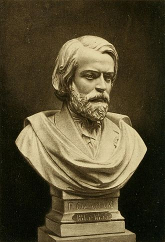 Society of Saint Vincent de Paul - Image: Bust of Frédéric Ozanam