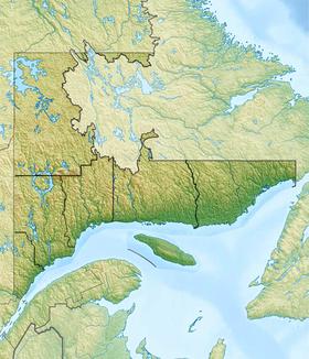 Voir sur la carte administrative de la zone Côte-Nord