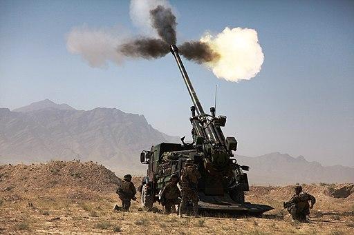 CAESAR firing in Afghanistan
