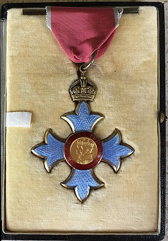 Order of the British Empire - Image: CBE AEA Coll