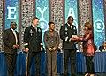 CG Wins receives BEYA 2018 Stars and Stripes Award (40178630391).jpg