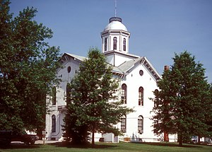 National Register of Historic Places listings in Clark County, Missouri - Image: CLARK COUNTY COURTHOUSE