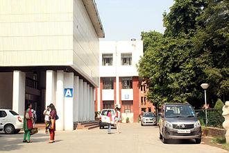 College of Art, Delhi - Main Building of College of Art