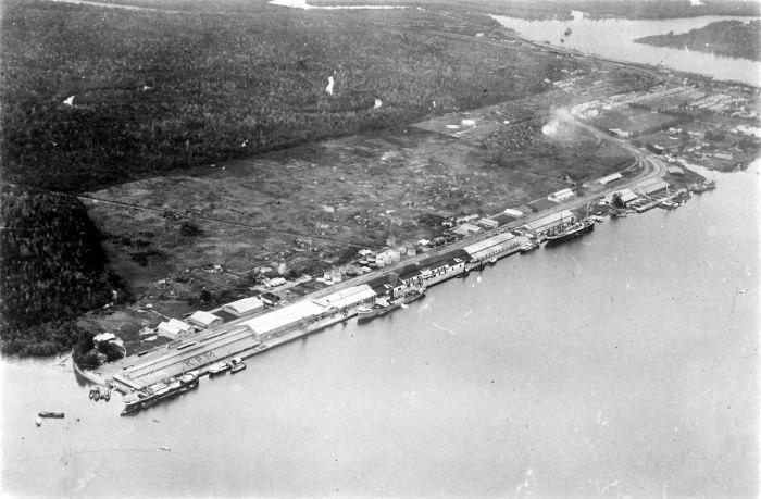 COLLECTIE TROPENMUSEUM Haven van Belawan Borneo TMnr 10007922