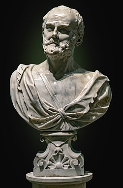 Ca' Rezzonico - Eraclito 1705 - Giuseppe Torretti.jpg