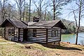 Cabin 8 - 2 bedroom CCC built cabin at Fairy Stone State Park - Waterfront (26198254502).jpg