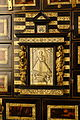 Cabinet with image of the Nino del Remedio, view 2, Castile, 1650-1700 AD, ebonised wood, shell, bone, bronze - Museo Nacional de Artes Decorativas - Madrid, Spain - DSC07973.JPG