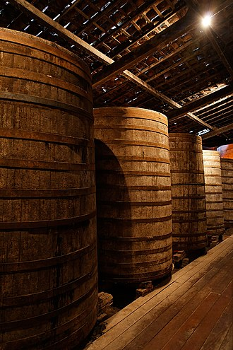 Cachaça - Barrels of cachaça
