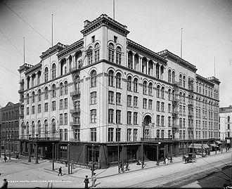 Westin Book Cadillac Hotel - Old Cadillac Hotel, c. 1915