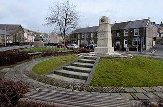 Caerau, Bridgend village in Wales, United Kingdom