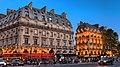 Cafe Le Depart St.-Michel, Paris July 2013.jpg