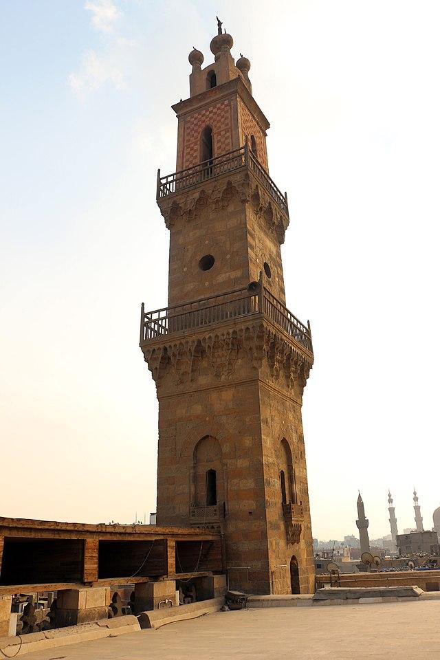 Minaret of Al-Ghuri Mosque