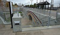 CalTrain Station Santa Clara California