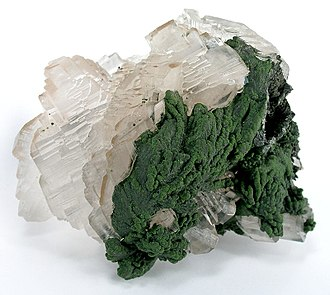 Calcite - Image: Calcite Mottramite cktsu 45b