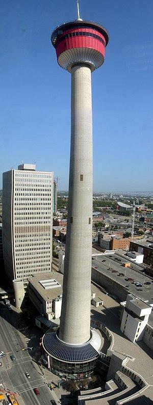 Calgary Tower - Image: Calgary tower 6