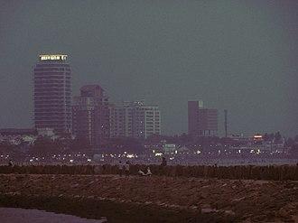 Kozhikode - Image: Calicut beach skyline