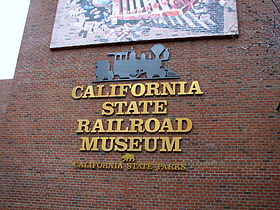 Image illustrative de l'article California State Railroad Museum