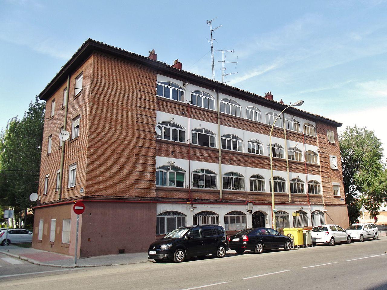Archivo calle manuel caldeiro 18 madrid jpg wikipedia - H m calle orense madrid ...