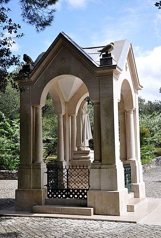 Valinhos (Fátima) - Our Lady's monument in Valinhos.