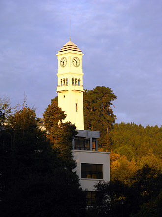 Concepción, Chile - The campanile of the Universidad de Concepción