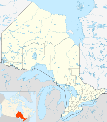Gananoque is located in Ontario
