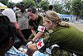 Canadian medical camp near Logne, Haiti 2010-01-25 2.jpg