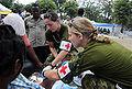 Canadian medical camp near Logne, Haiti 2010-01-25 2.jpg