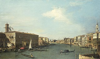Venice: The Grand Canal Looking North from the Rialto