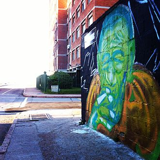 Cannabis in Uruguay - Graffiti in Montevideo