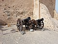 Cannons at Fujairah Fort Entrance.jpg