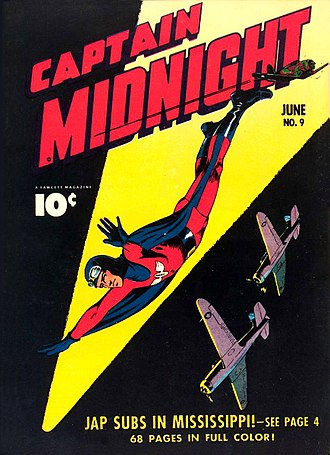Fawcett Comics - Image: Captain Midnight