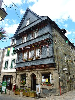 Carhaix-Plouguer Commune in Brittany, France