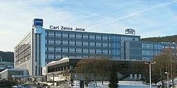 Carl-Zeiss-Promenade in Jena