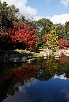 Carp pond scenery at Expo'70 Commemorative Park in Osaka, November 2017 - 013.jpg