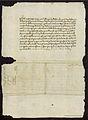 Carta del arzobispo de Monreal a don Fernando sobre su matrimonio con Isabel de Castilla 1471 02.jpg
