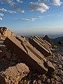 Carved Slabs at Nemrut Dağı - Evening Light, Western Terrace - panoramio.jpg