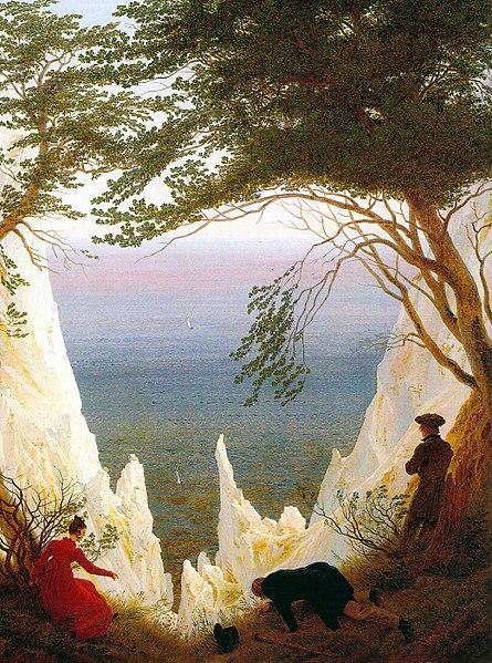 File:Caspar David Friedrich Chalk Cliffs on Rügen.jpg