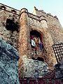 Castillo de Manzaneque desde abajo.JPG