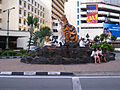 Cat statues in Kuching.jpg