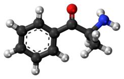 Cathinone molecule ball.png