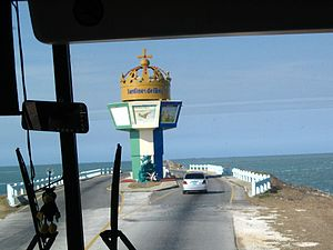 Jardines del Rey - Jardines del Rey causeway entrance