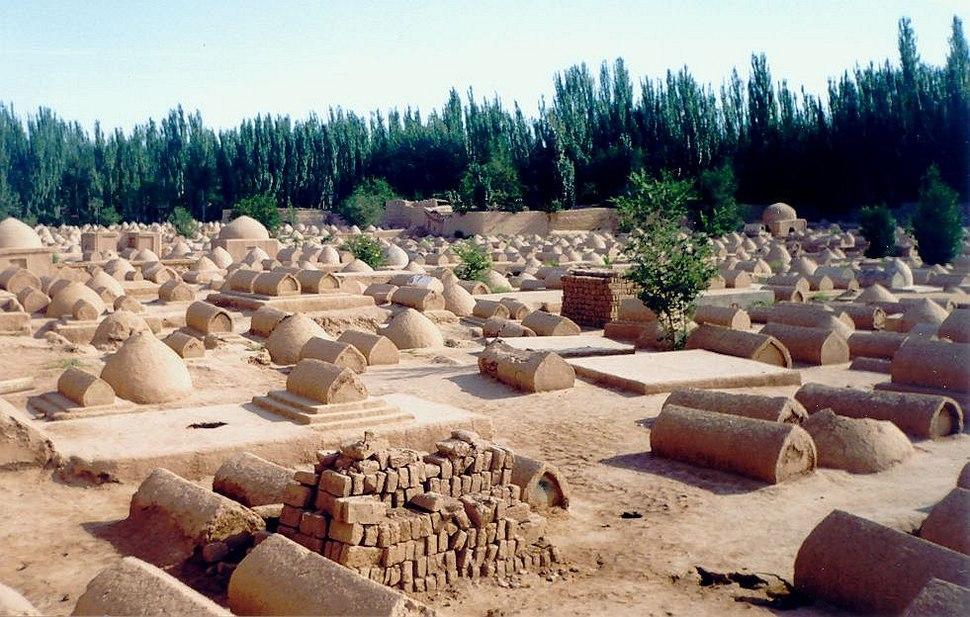 Cemetery in Kashgar
