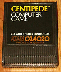 Centipede computer game for Atari 8 bit computers 1982.jpg