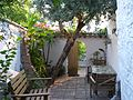 Central ground floor terrace with Olive tree and cool dining area for Summer - Flickr - gailhampshire.jpg