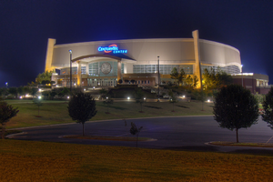 Das CenturyLink Center in Bossier City
