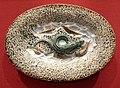Ceramica palissy, rilievo con serpente e pesci, 1820 ca..JPG