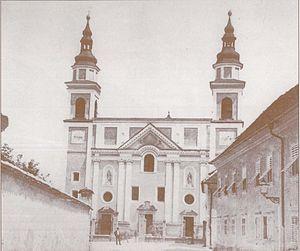 St. Peter's Parish Church (Ljubljana) - St. Peter's Church in 1890s
