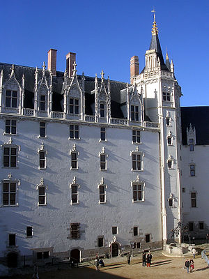 Edict of Nantes - The château of the dukes of Brittany at Nantes, from which the edict was promulgated